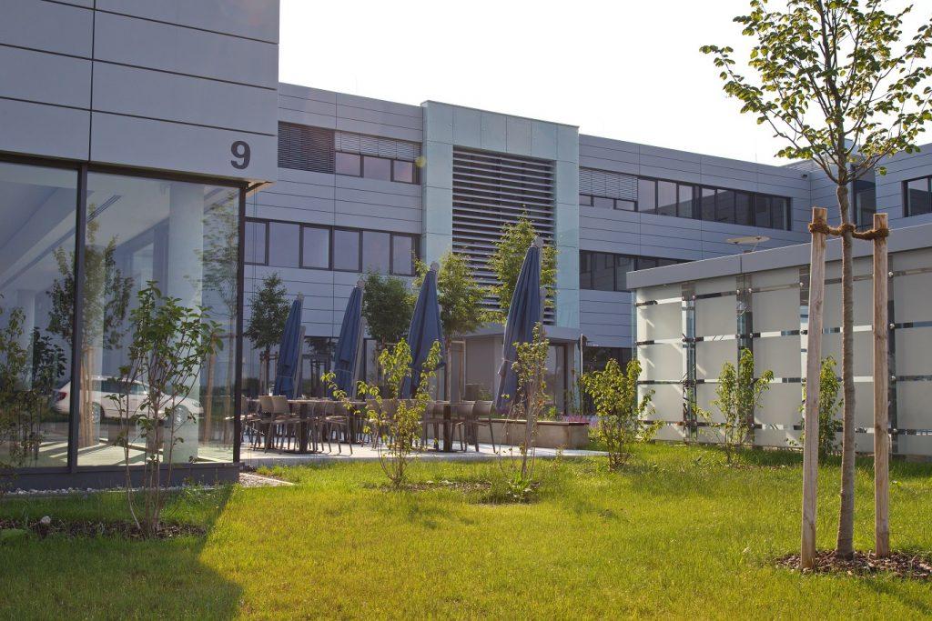 Bürogebäude Bergfeldstraße 9 (Bildquelle: Markus Seidl, Großseeham)